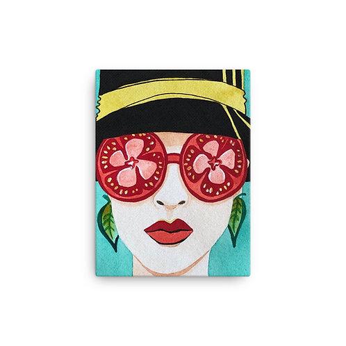 """Alicia Jungwirth """"Tomato & Basil"""" (Canvas Giclee)"""