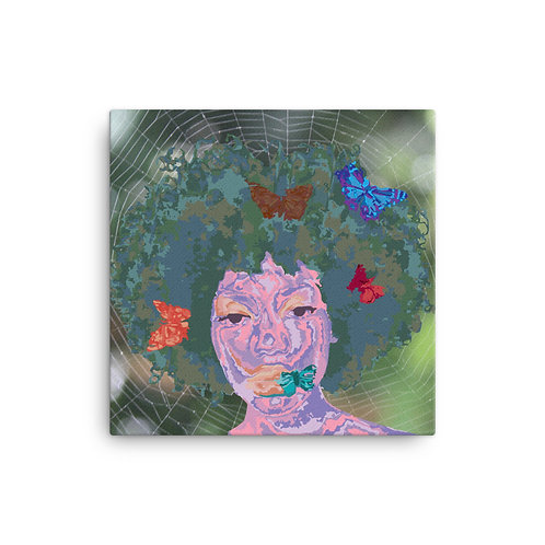 Butterfly Girl (Canvas Giclee) by Jay Clark