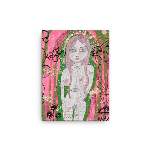 Lady Love (Canvas Giclee) by Jennifer Betlazar