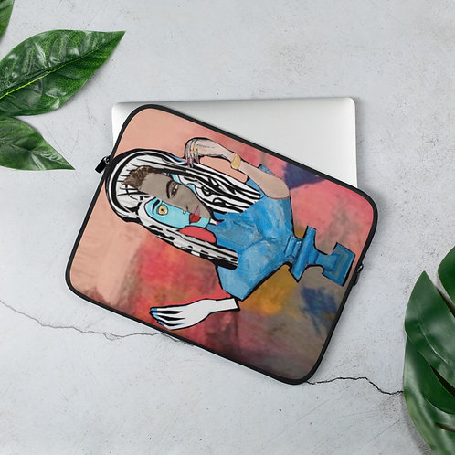 "Brittany Minnes ""Rhodium"" (Laptop Sleeve)"