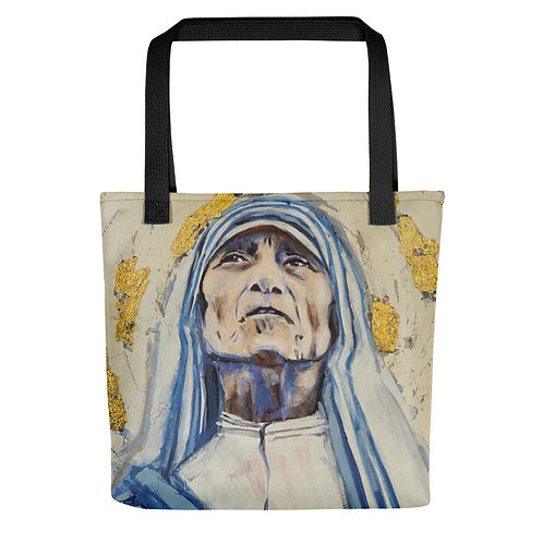 "Angie Meche Kilcullen ""Mother Teresa"" (Tote bag)"