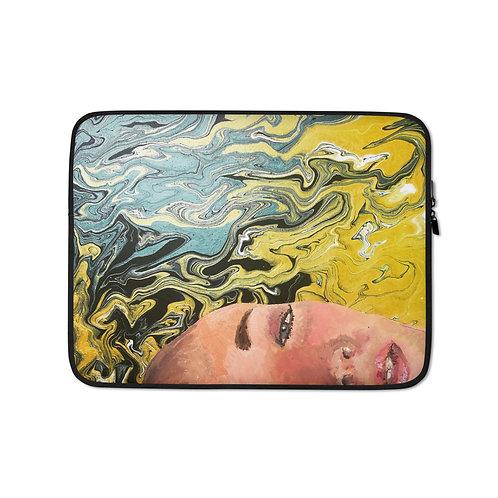 """Ghia Haddad """"Floating"""" (Laptop Case)"""