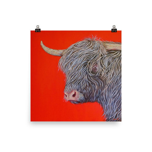 Big Red Cow by Carol Greenwood
