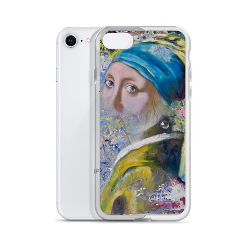 "Carol Greenwood ""Homage to Vermeer"" (iPhone Case)"
