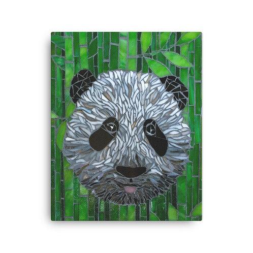 "Katie McMurry ""Panda"" (Canvas Giclee)"