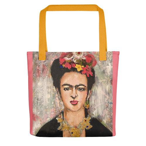 "Angie Meche Kilcullen ""Frida"" (Tote bag)"