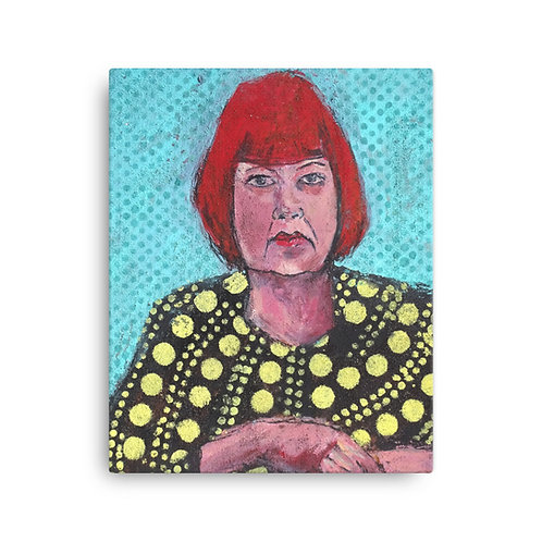 """Iris van Zanten """"The Artist"""" (Canvas Giclee)"""