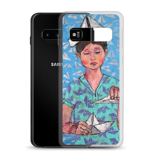 I'm the King of the World (Samsung Case) by Iris van Zanten