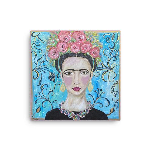 Frida (Canvas Giclee) by Jennifer Psalmonds