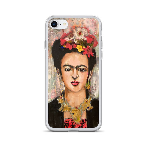 Frida (iPhone Case) by Angie Meche Kilcullen