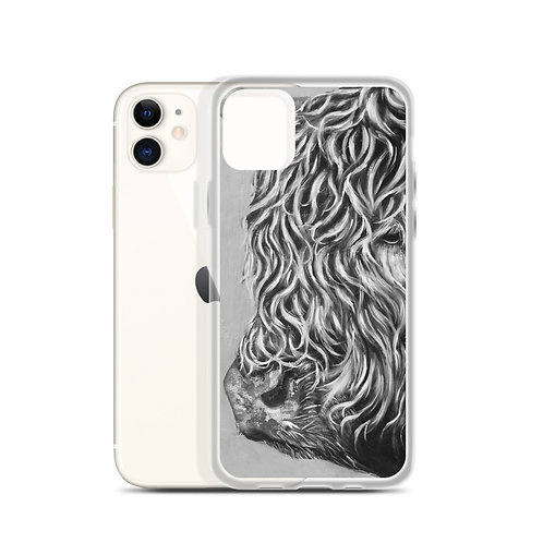 Hairy Cow (iPhone Case) by Carol Greenwood