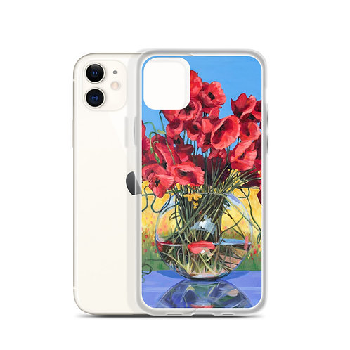 Perfect Poppies (iPhone Case) by Nancy Altemus