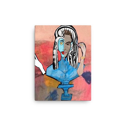 "Brittany Minnes ""Rhodium"" (Canvas Giclee)"