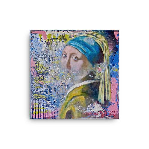 """Carol Greenwood """"Homage to Vermeer"""" (Canvas Giclee)"""