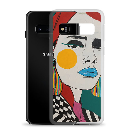 Some women fear the fire, some simply become it (Samsung Case) A. Sneeringer