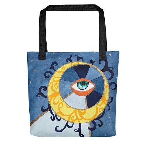 "Alicia Jungwirth ""Moon Man"" (Tote bag)"