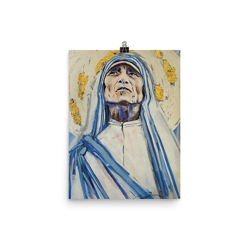 Mother Teresa by Angie Meche Kilcullen