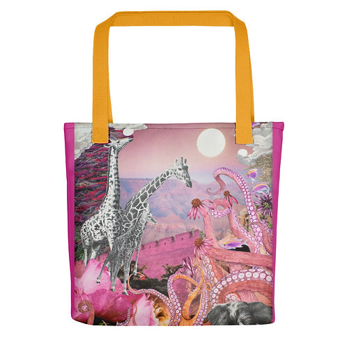 "Rachel Newell ""The Long Lost Pink"" (Tote Bag)"