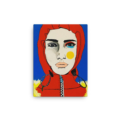 Cold Feeling (Canvas Giclee) by Ana Sneeringer