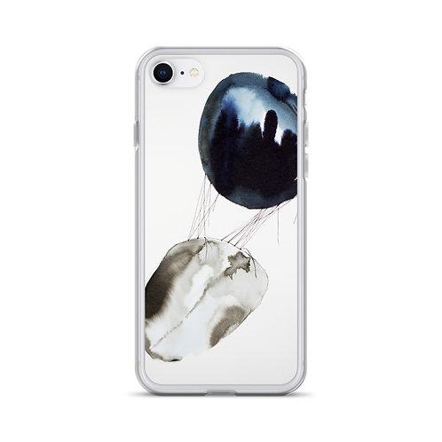 Connexion 2 (iPhone Case) by Emmanuelle Gaudillat