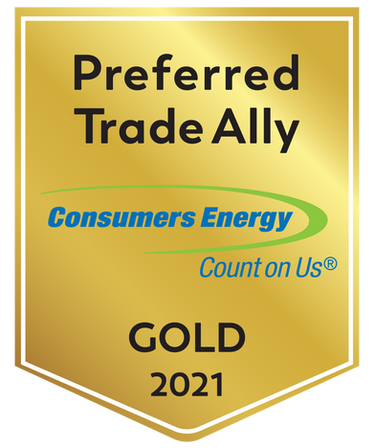 2021 PREFERRED TRADE ALLY - CONSUMERS ENERGY - GOLD