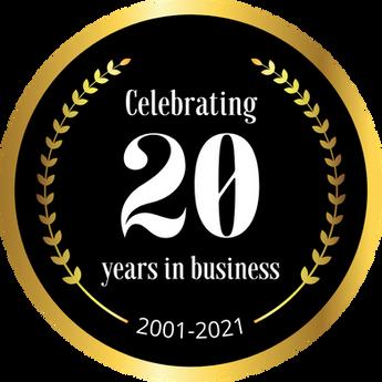 DSM 20 YEAR ANNIVERSARY 2001 - 2021