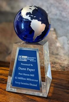 DUNN PAPER PORT HURON - $2 MILLION INCENTIVES MILESTONE BY DSM