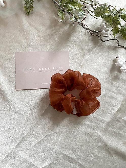 Organza Scrunchie | Copper