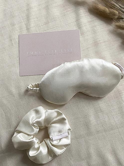 Bridal Satin Sleep Mask   Multiple Colours Available