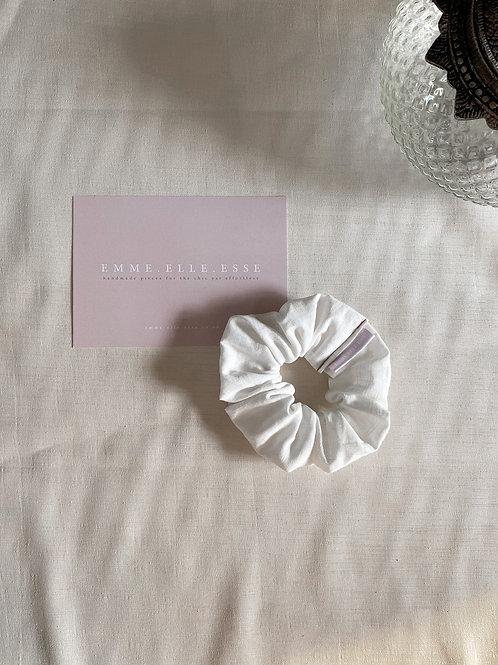 Linen Scrunchie | Ecru