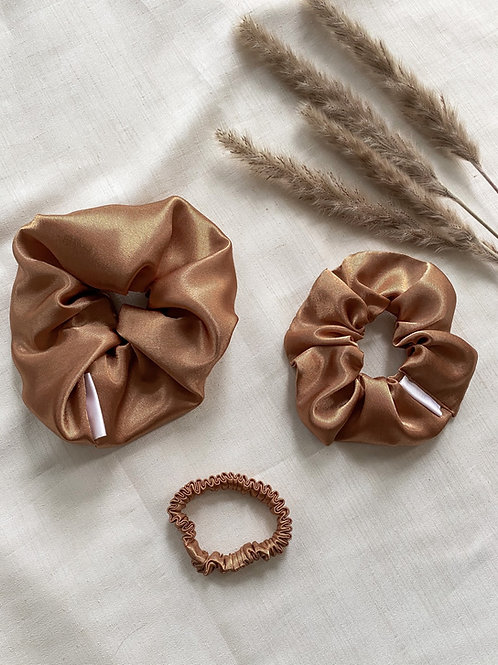 Satin Scrunchie | Copper