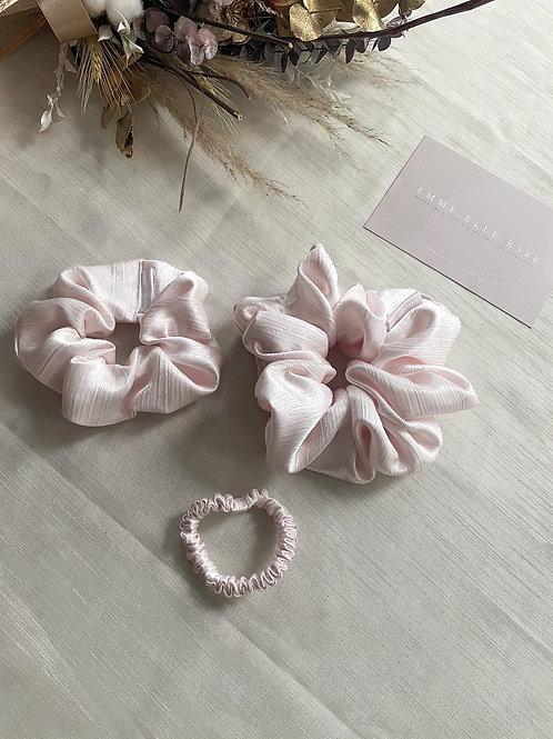 Satin Scrunchie | Pale Rose
