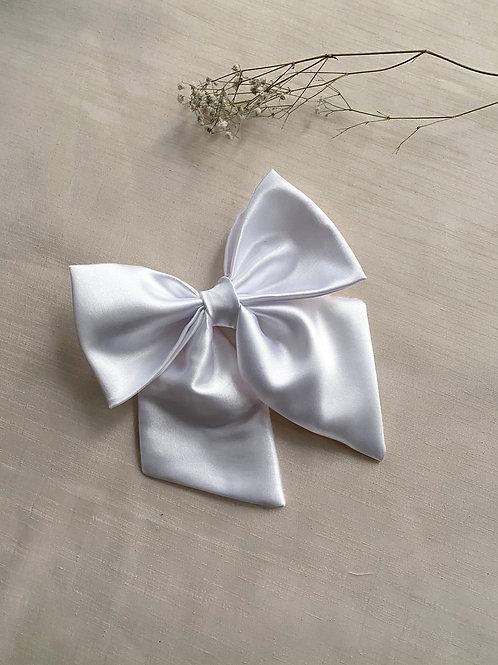 Oversized Satin Bridal Hair Bow | 2 Colours Available