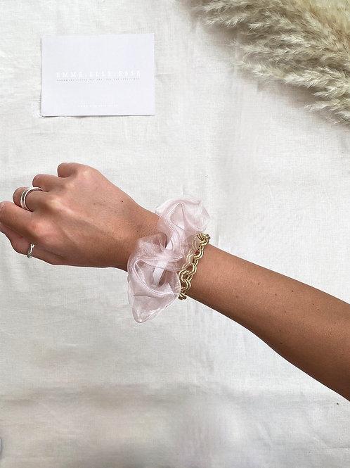 Chiffon Scrunchie | Pink