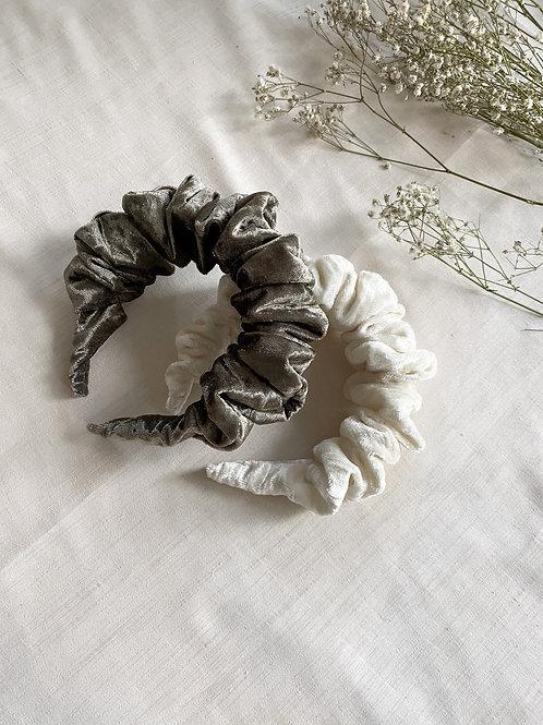 Velvet Scrunchie Headband | 4 Colours Available