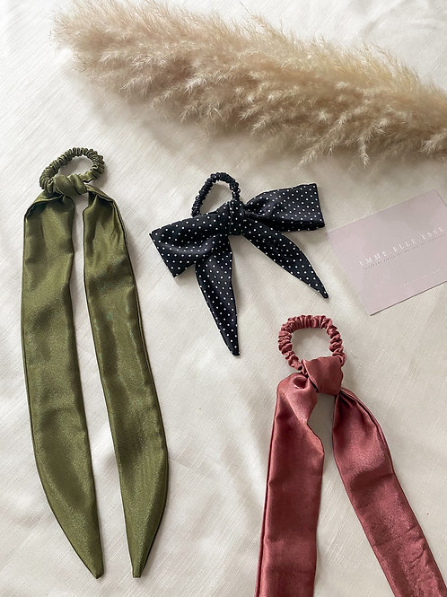 Satin Hair Tie | 8 Colours Available