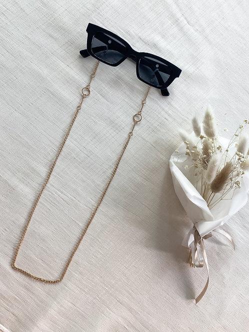 Circle Detail Sunglasses Chain