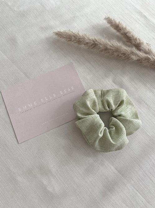 Linen Scrunchie | Sage