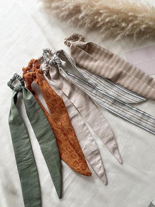 Linen Hair Tie | Multiple Colours Available
