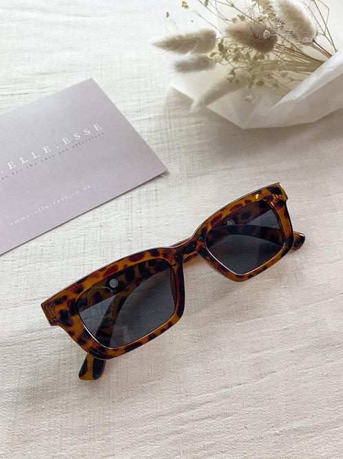 Acrylic Sunglasses   Tortoise Shell