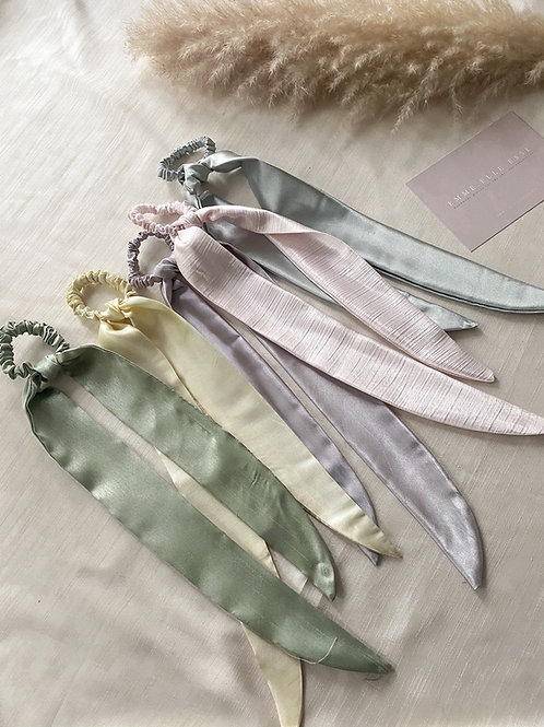 Pastel Satin Hair Tie | Multiple Colours Available