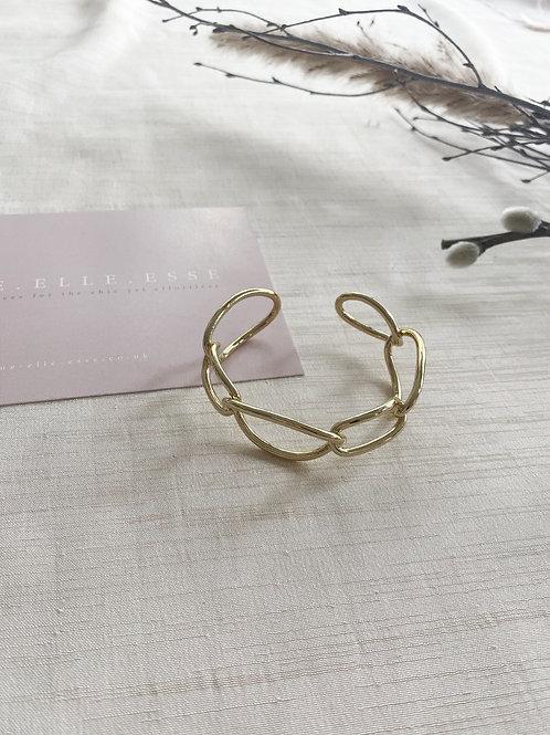 Chain Cuff Bracelet | Gold