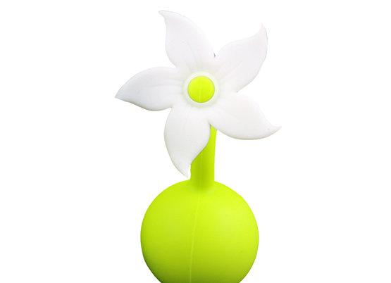 פקק סיליקון בצורת פרח לכוס טפטופים