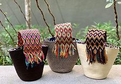 Wayuu basket caña flecha big handle _nan