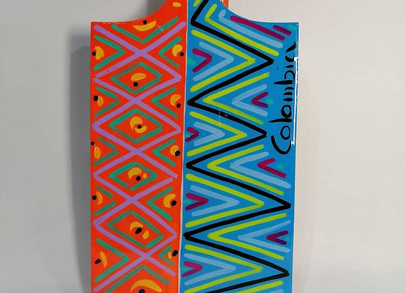 Rectangular Cutting Board L - Ethnic Weave