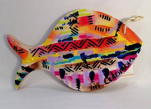 Formed Cutting Board - Fish