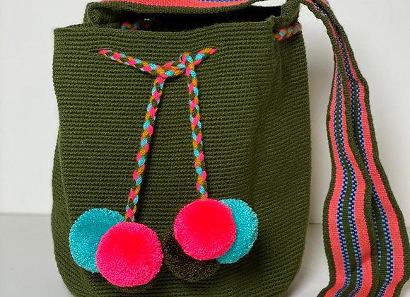 Wayuu Bag Unicolor Medium Size