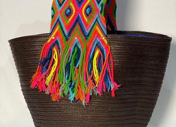 Wayuu Basket Canaflecha Big Handle