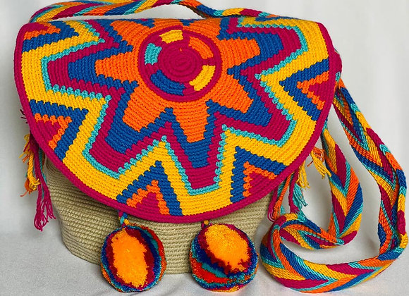 Wayuu Bag with Cover M