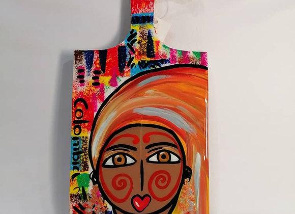Rectangular Cutting Board L - Wayuu